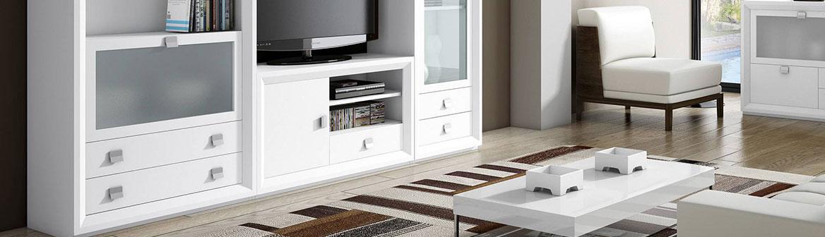 Muebles para salones : aparadores, vitrinas, mesas de centro…